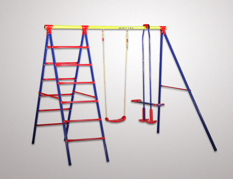 FSD-Double-swing-with-climbing-rungs