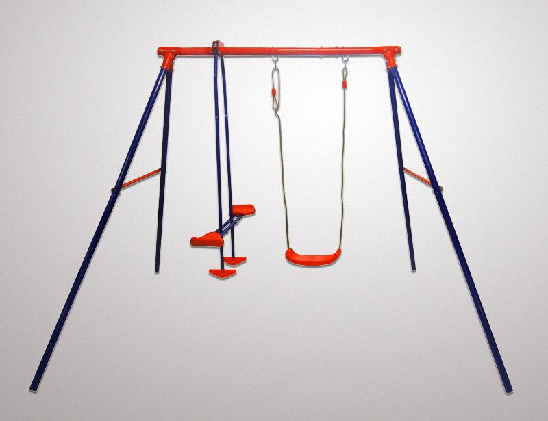 FSD-Metal-swing-set-double-(glider-&swing-seat)